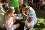 Kinder und Sommerfest